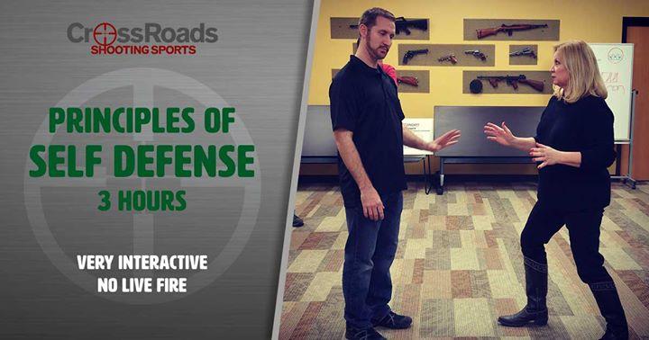 Principles of Self Defense