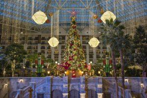 Holiday Decor Indoor Atrium