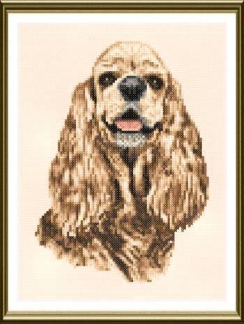 Cocker Spaniel Cross Stitch Pattern dogs