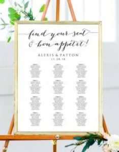 Bon appetit seating charts also chart template wedding plans templates rh crossvinedesigns