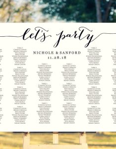 Let   party seating charts also wedding templates and printables rh crossvinedesigns