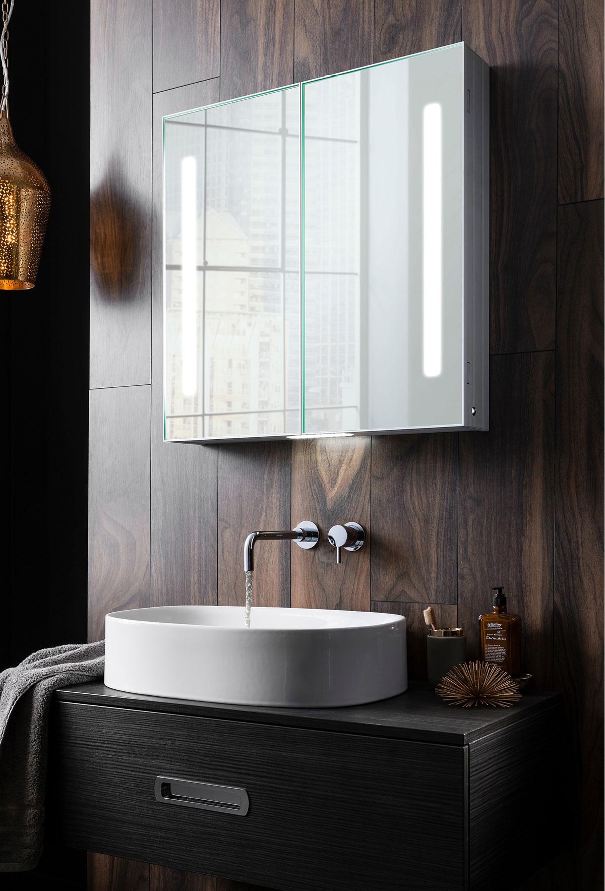 Allure 700 Mirrored Cabinet In Allure Luxury Bathrooms