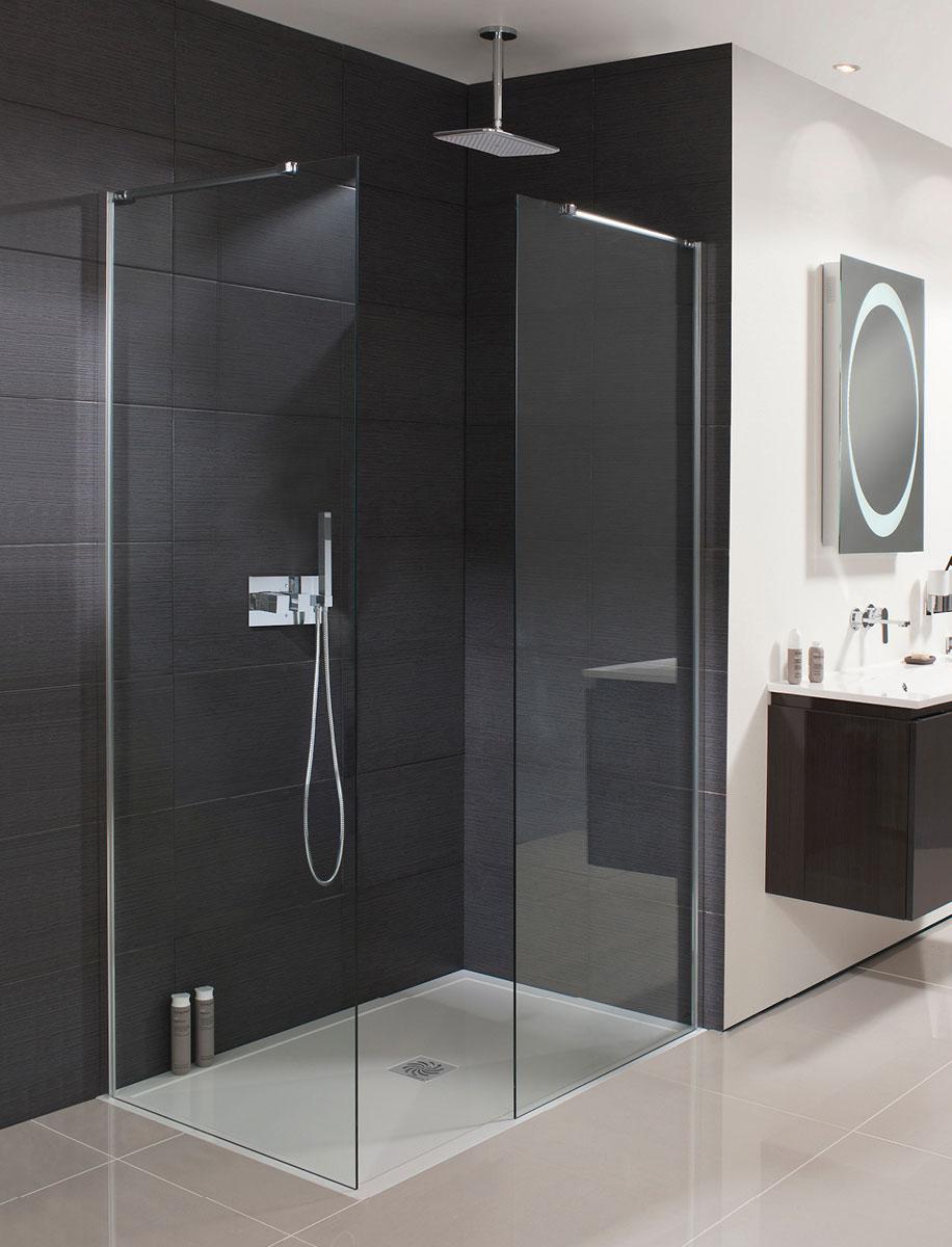 Design Walk In Shower Panel in Frameless