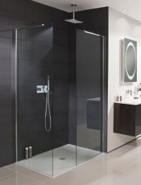 Design Walk In Shower Panel in Frameless