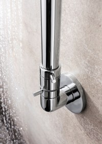 Central Exposed Inline Manual Shower Valve Integrated ...