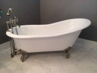 vintage clawfoot bathtubs why buy a new cast iron clawfoot ...