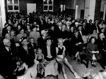 Opening Day of Blackburn Baptist's first building, April 1954