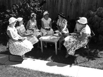 Girls Bible Class 1957