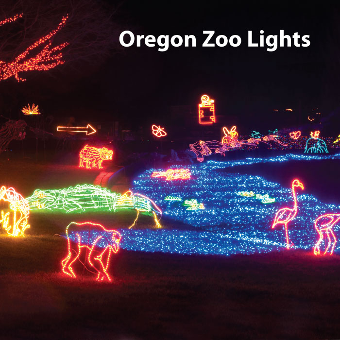 Oregon Zoo Lights Pictures