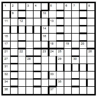 Crossword Centre Prize Puzzle June 2012