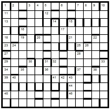 Crossword Centre Prize Puzzle January 2014