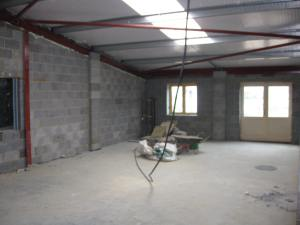 Crouch Vale Vets, before the plasterers