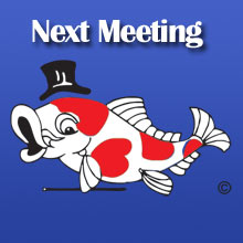 Next Monthly Meeting
