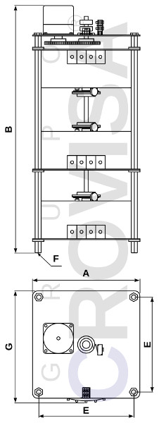 Three-phase variable autotransforners up to 33kVA power