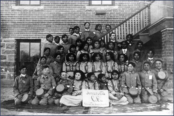 Photo of Ute Boarding School 19001911  Peoples of Mesa Verde