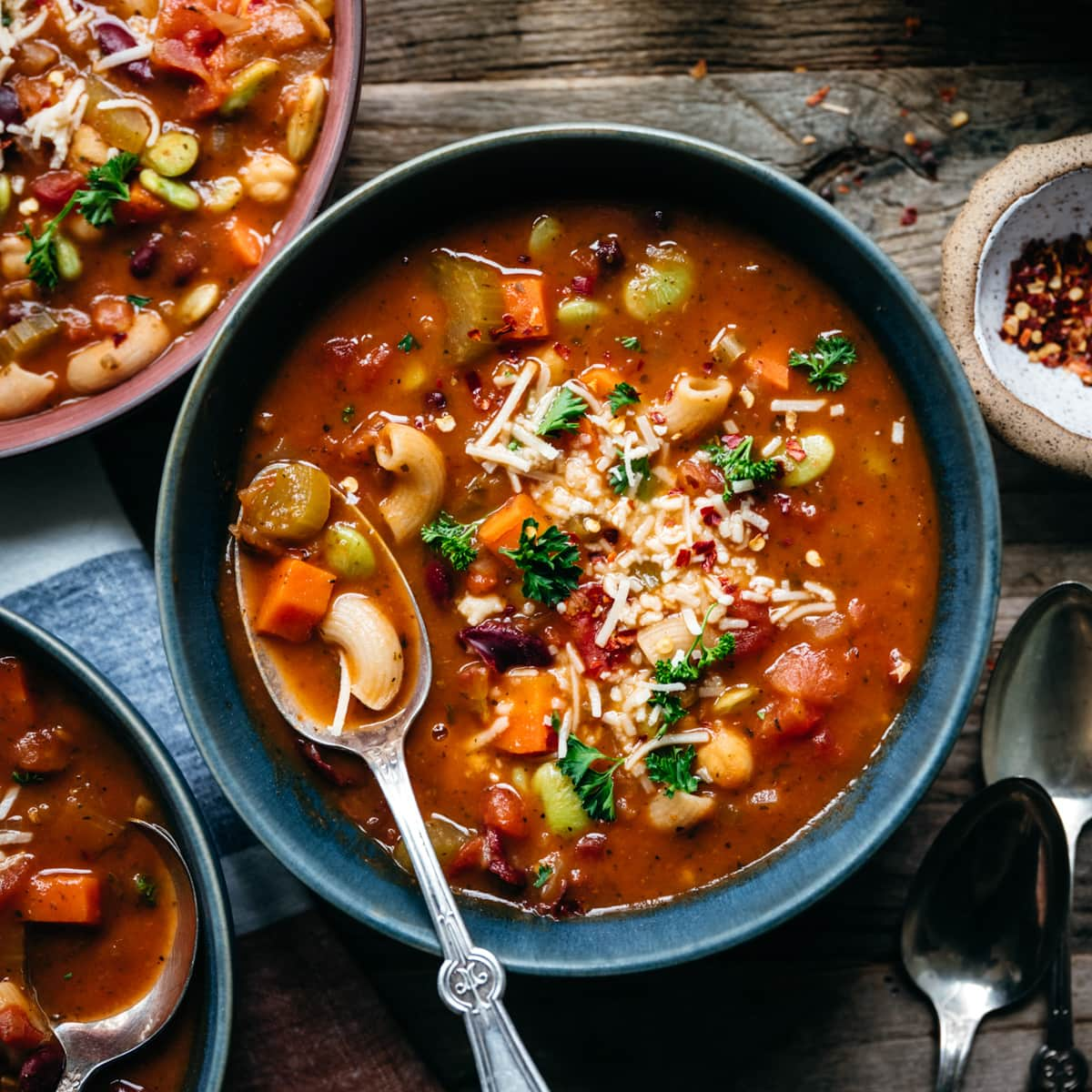 Vegan Minestrone Soup Recipe   Crowded Kitchen