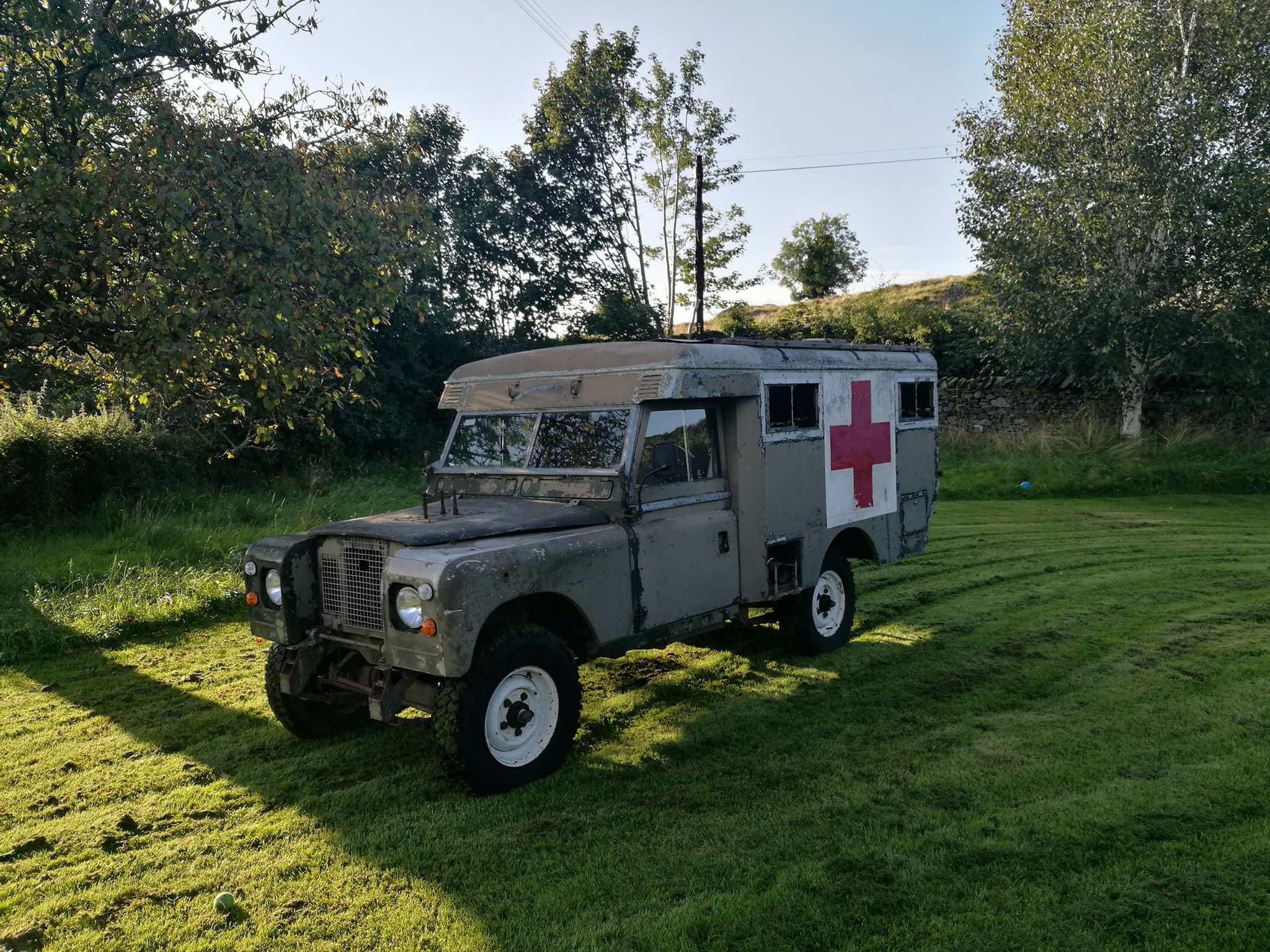 Land Rover Series 2a Ambulance a Heritage Crowdfunding Project in
