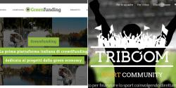 Piattaforme italiane verticali Greenfunding e Triboom