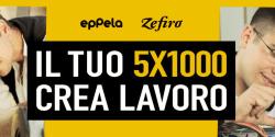 Zefiro e Eppela 5x1000 per crowdfunding
