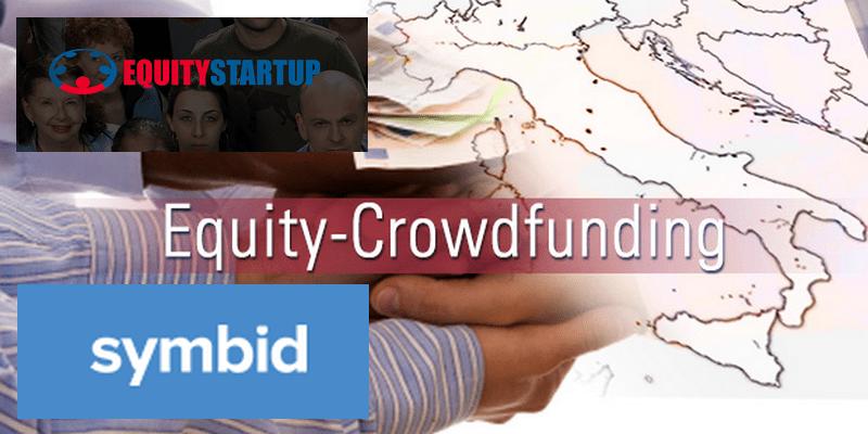 Symbid e Equitystartup equity crowdfunding italia