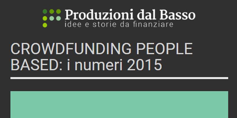 Produzioni dal Basso performance 2015