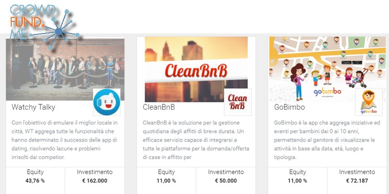 Nuove campagne equity crowdfunding crowdfundme