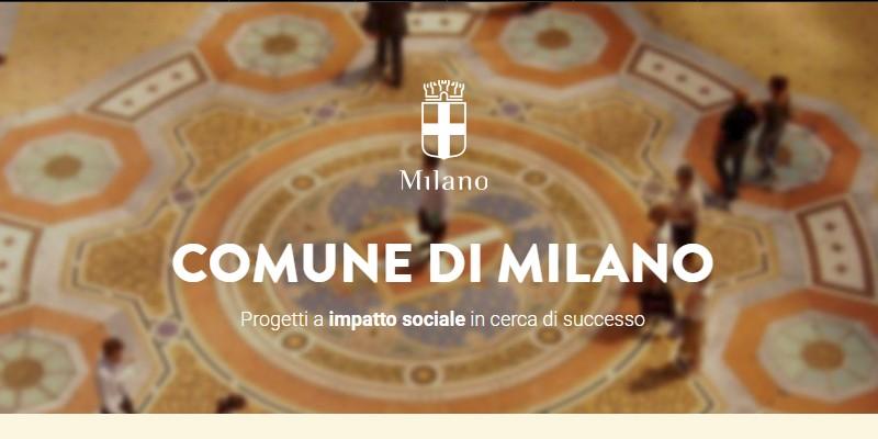 Comune di Milano crowdfunding civico seconda tornata