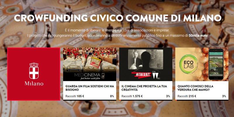 Comune Miiano terzo round crowdfunding civico con Eppela