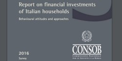 Consob report famiglie investimenti