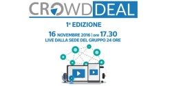 Crowd Deal equinvest lancia campagne equity crowdfunding live streaming