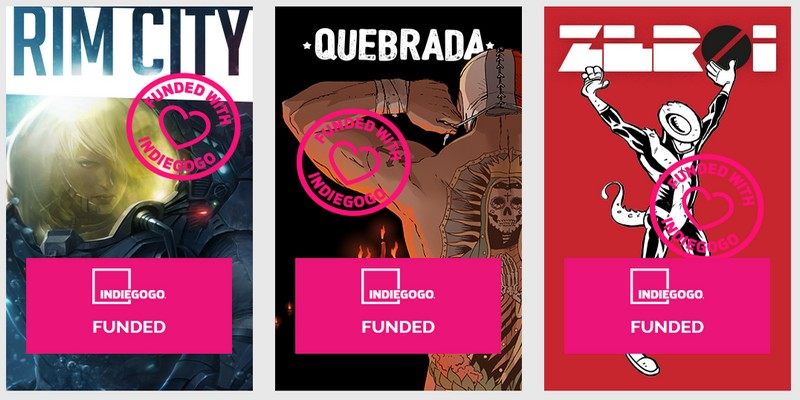 Fumetto italiano raccoglie 140k con reward crowdfunding su Indiegogo