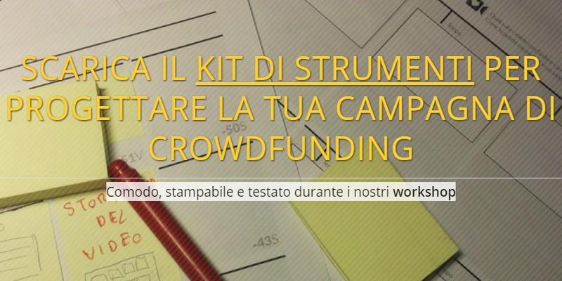 Kit per pianificare campagna di crowdfunding