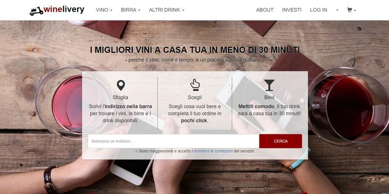 Winelivery equity crowdfunding su Crowdfundme