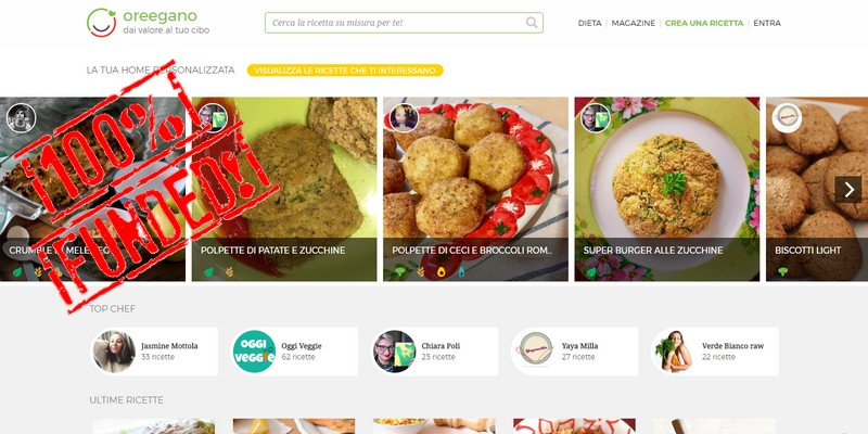 Oreegano raccoglie 130k con equity crowdfunding su Crowdfundme