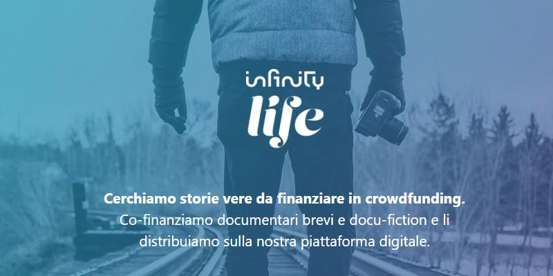 infinity mediaset cofinanzia campagne crowdfunding su ProduzionidalBasso