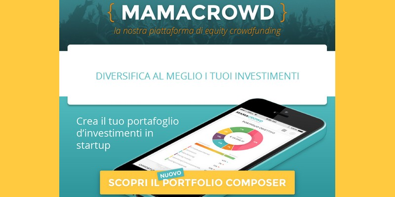Mamacrowd lancia Portfolio Composer