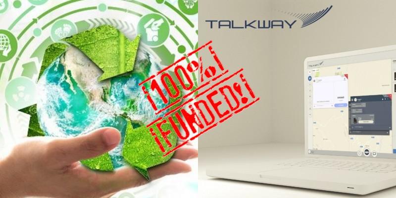 BorsinoRifiuti e Talkway successo equity crowdfunding su Crowdfundme