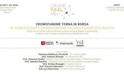 Convegno Crowdfundme borsa Milano