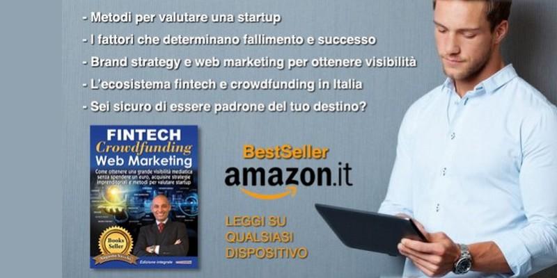 Libro Fintech Crowdfunding Webmarketing Augusto Vecchi