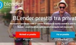 Blender nuova piattaforma lending peer to peer tra privati