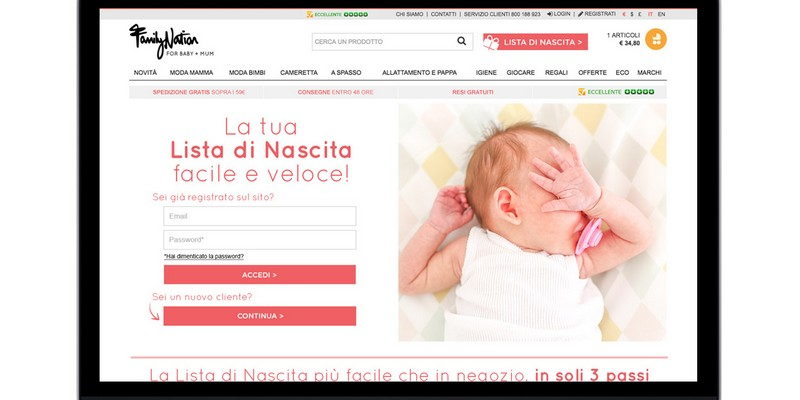 Family Nation ecommerce equity crowdfunding Mamacrowd