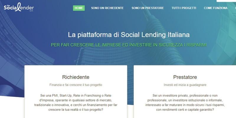Parte The Social Lender, nuova piattaforma di P2P lending per finanziare le PMI italiane