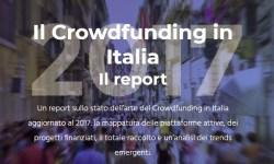 Report Starteed crowdfunding in Italia 2017
