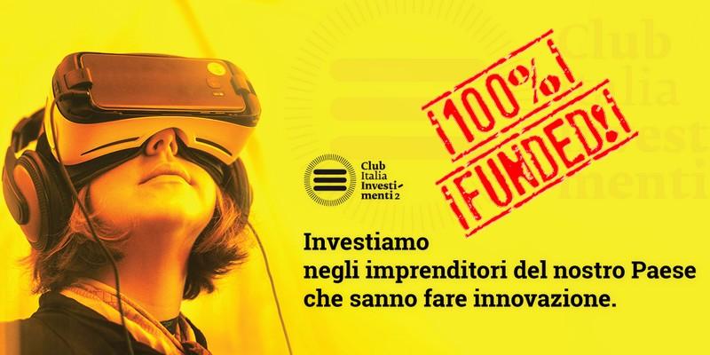 CLub Italia Investimenti 2 successo record equity crowdfunding
