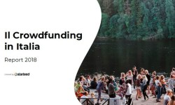 Report Starteed 2018 crowdfunding in Italia