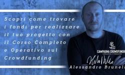 Corso crowdfunding Alessandro Brunello