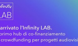Infinity Lab open innovation crowdfunding audiovisivi