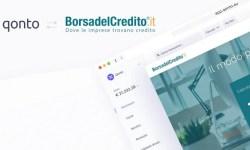 Partnership Borsadelcredito Qonto