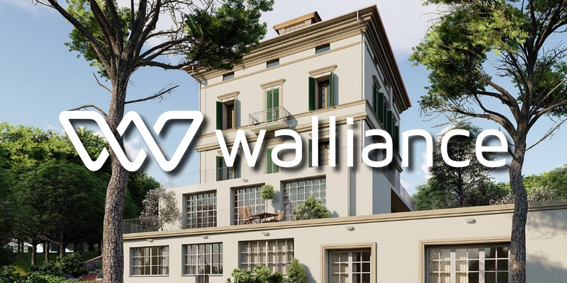Walliance record crowdfunding immobiliare Firenze