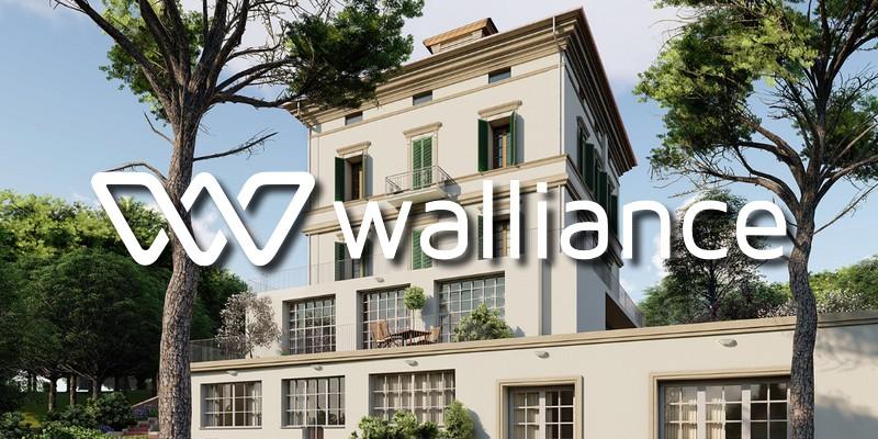 Walliance record crowdfunding immobiliare Firenze
